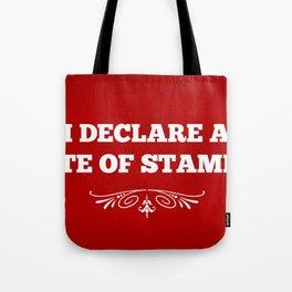 State Of Stampede Tote Bag