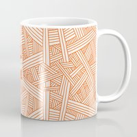 labyrinth Mugs featuring Labyrinth by Jarvis Glasses