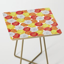 Dahlia Garden Summer Side Table