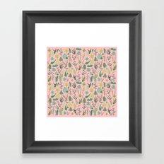 Nature Pink Framed Art Print