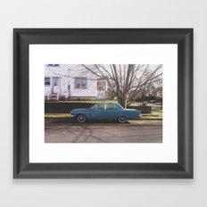 Rambler Framed Art Print