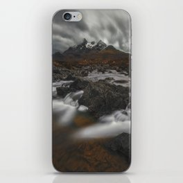 The Hills Of Cuillin iPhone Skin