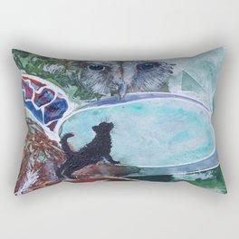 Owl & the Pussycat Rectangular Pillow