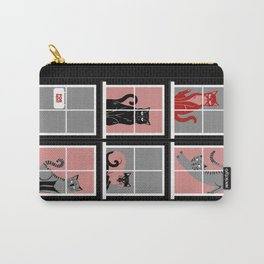 House for Cats Carry-All Pouch