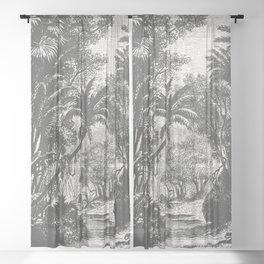 Indian Jungle Sheer Curtain