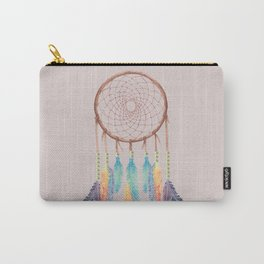 Gypsy Dreams Dreamcatcher on Rose with Gypsy Dreams Trim Carry-All Pouch
