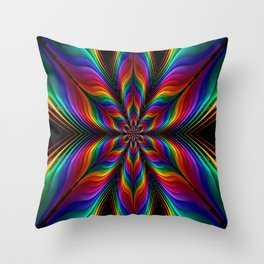 The Magical Mystery Tour Throw Pillow