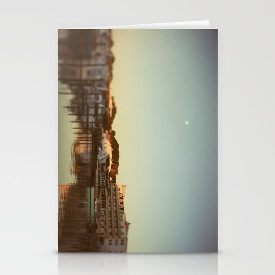 Harbor Moon Stationery Cards