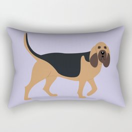 Bloodhound Rectangular Pillow