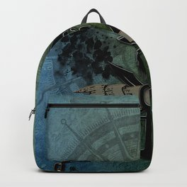 Pirate design, a pirate's life for me Backpack