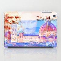 leonardo dicaprio iPad Cases featuring Code Leonardo  by Ganech joe