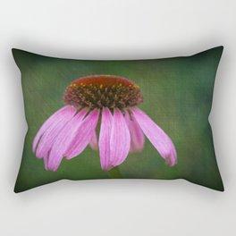 Purple Coneflower Rectangular Pillow