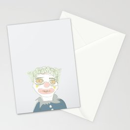 Walter as a Clown Stationery Cards