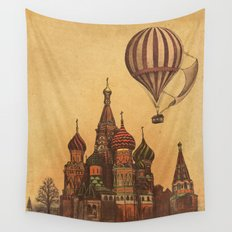 Moving to Moscow Wall Tapestry