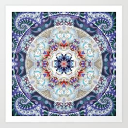 Mandalas from the Voice of Eternity 1 Art Print