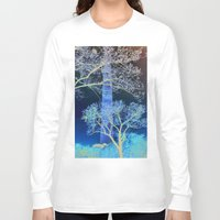 dc Long Sleeve T-shirts featuring DC Blossom  by Cultivate Bohemia