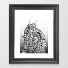 Exuberant Architecture Framed Art Print