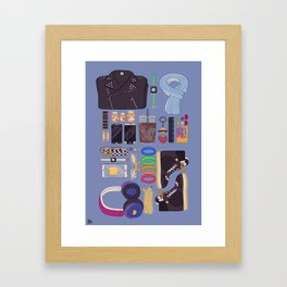 Inventory: Cool Kids Framed Art Print