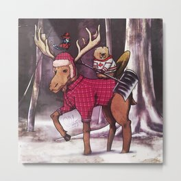 Most Canadian Picture Metal Print