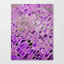 Friday Night Mosaic Canvas Print