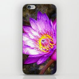 Texas Water Lilly iPhone Skin