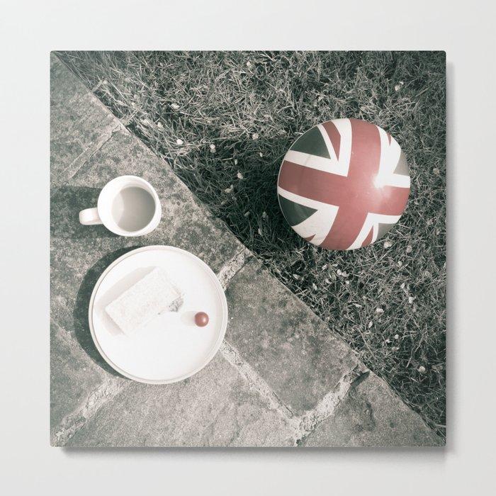 British Sunday   Still Life 88B Metal Print