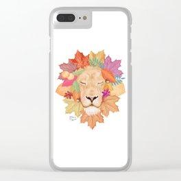 Autumn Leon Clear iPhone Case