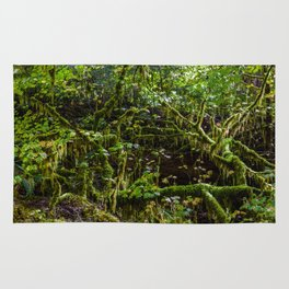 Deep in the rain forest Rug