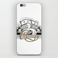 chicago iPhone & iPod Skins featuring Chicago by pakowacz