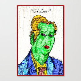 Candidate Cruz Canvas Print