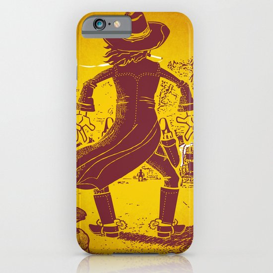 The Last Showdown - The bad guy iPhone & iPod Case