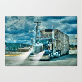The Cattle Truck Canvas Print