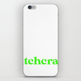 Introverted But Willing to Discuss Witchcraft iPhone Skin