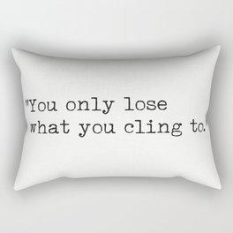 Buddha quote 3 Rectangular Pillow