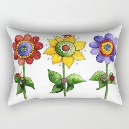 The Three Amigos II Rectangular Pillow