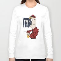 drink Long Sleeve T-shirts featuring DRINK by Ivano Nazeri