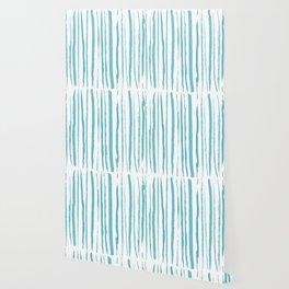blue streaky pattern Wallpaper