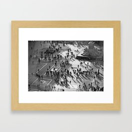 everyone has a story Framed Art Print