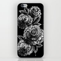 bioworkz iPhone & iPod Skins featuring Four Roses by BIOWORKZ