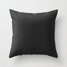 Lines 28J Throw Pillow