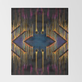 Chaos Consumes Civilization Throw Blanket