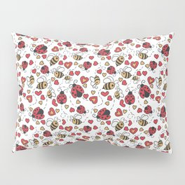 Bugs and Bees Pillow Sham
