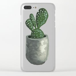 House Plants 1 Clear iPhone Case