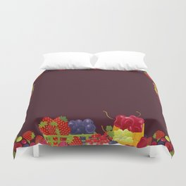 Berries. Sweet summer. Duvet Cover