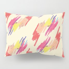 Abstract Colorful Pattern Pillow Sham