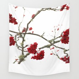 Wintry Day  Wall Tapestry