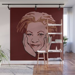 Toni Morrison Wall Mural
