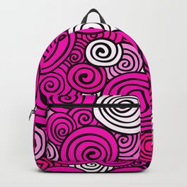 African Style No23, Pink dance Backpack