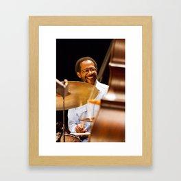 Brian Blade and the Fellowship Band. XII Panama Jazz Festival Framed Art Print