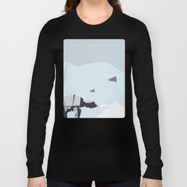 Empire Strikes Back movie poster. Long Sleeve T-shirt